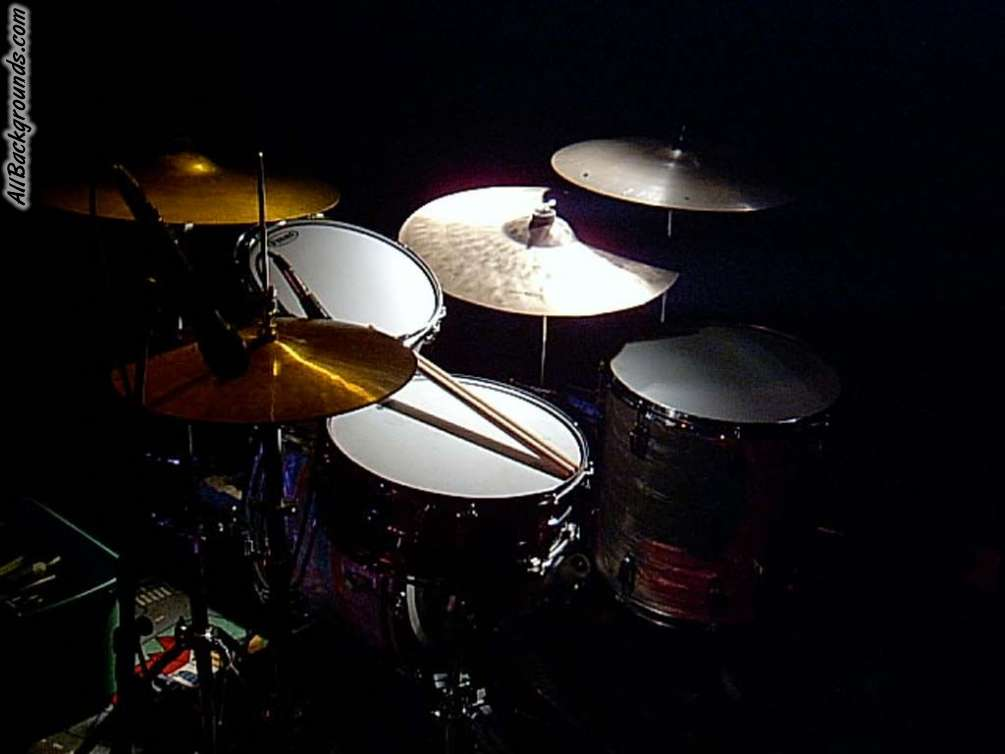 download Drum Set Backgrounds Twitter Myspace Backgrounds 1005x754