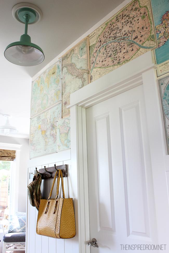 Map Wallpaper For Walls The DIY way 650x975