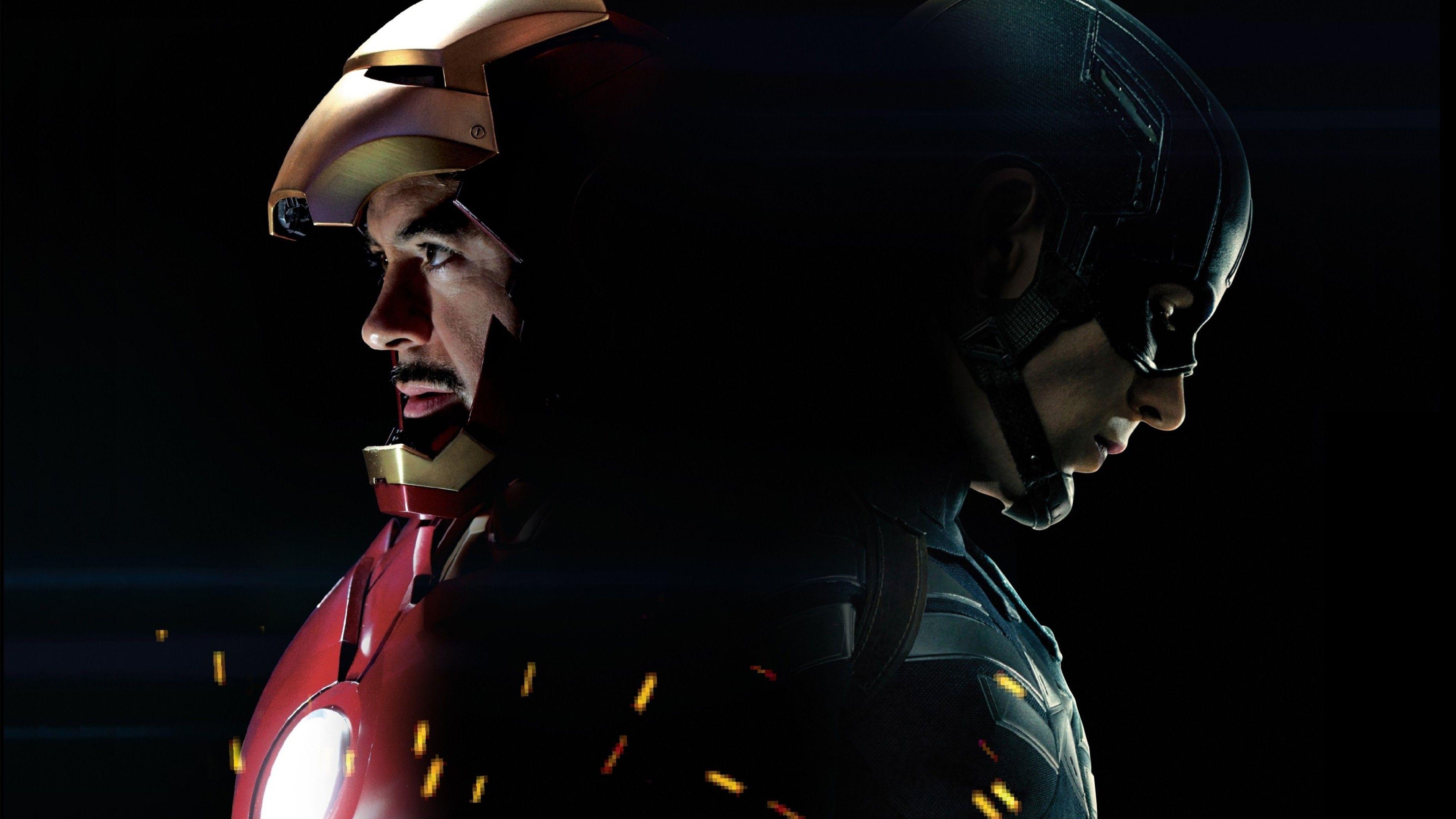 18 Captain America And Iron Man Wallpapers On Wallpapersafari