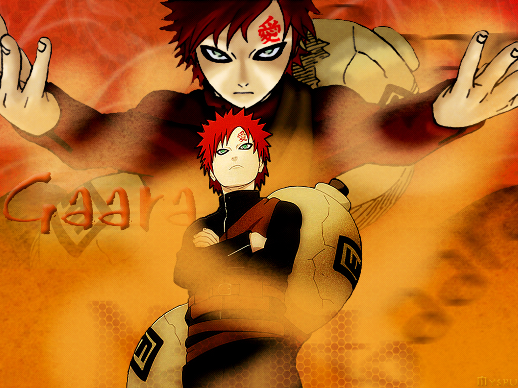 Gaara wallpaper kazekage 8 14783 Wallpapers Naruto Friends 1024x768