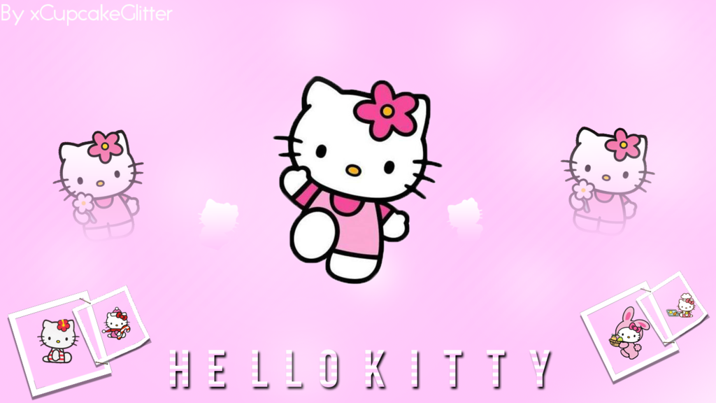 Hello Kitty Hd Wallpaper Sparkle Wallpapersafari