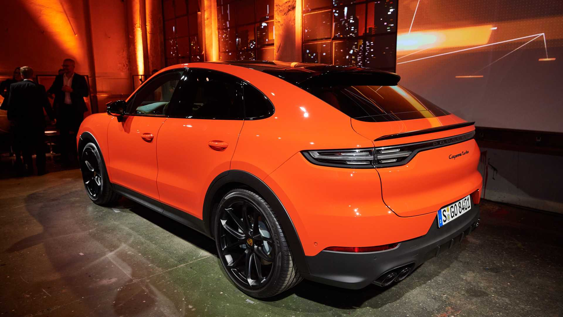 Porsche Cayenne Coupe Shows Unusual Shape In Videos Live Pics 1920x1080