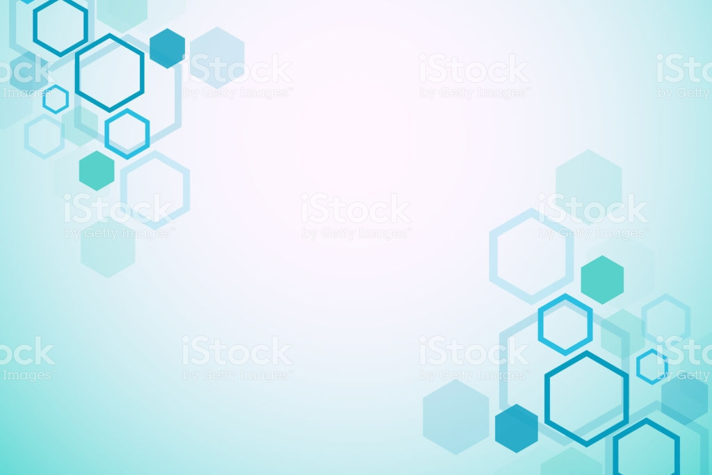 Abstract Medical Background Dna Research Hexagonal Structure 1024x683