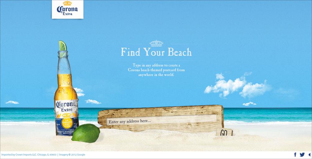 Find Your Beach Corona Wallpaper - WallpaperSafari