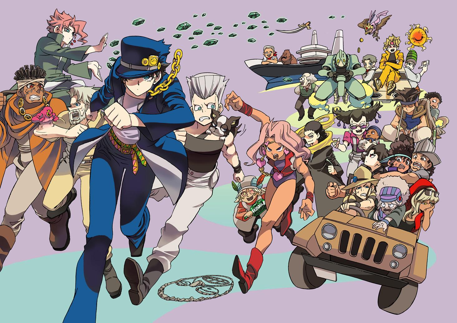 Anime Wallpapers Jojos Bizarre Adventure   Anime Wallpaper 1465x1035