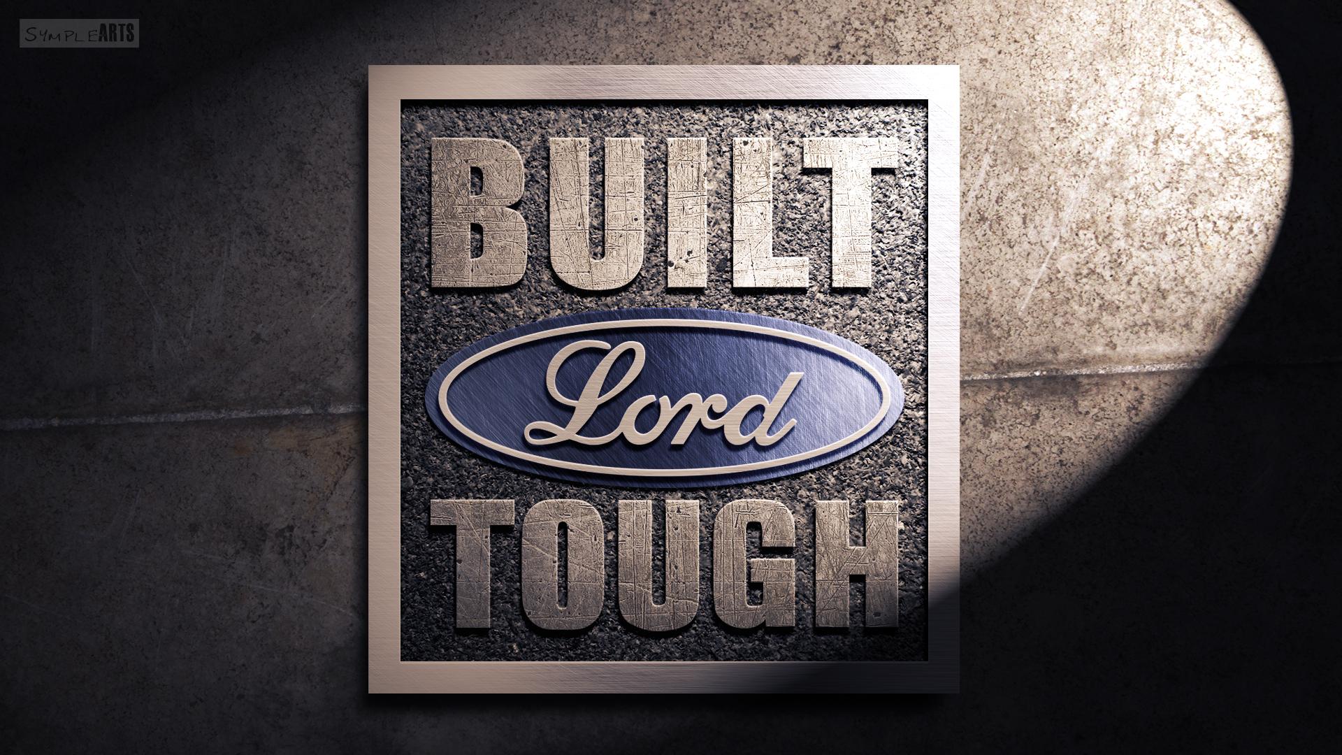 Built Ford Tough Logo Vector   image 586 1920x1080