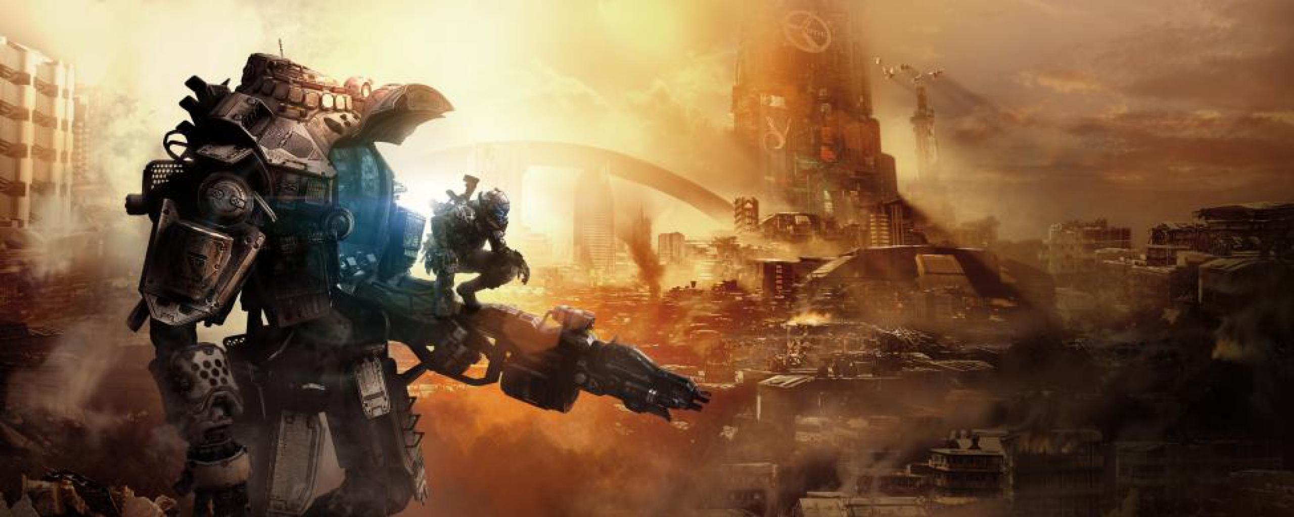 Game Respawn entertainment Action Wallpaper Background Dual Monitor 2560x1024