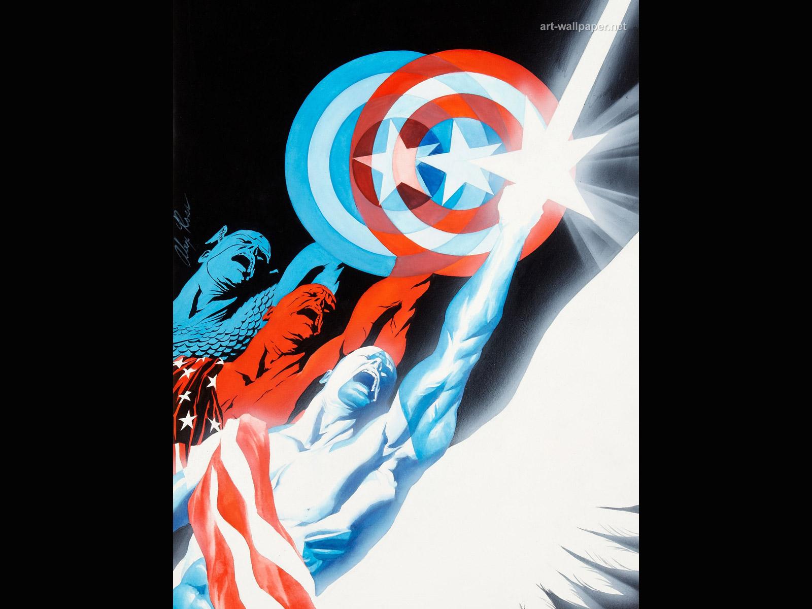 Captain America Wallpaper Captain America Comics Wallpaper 1600x1200