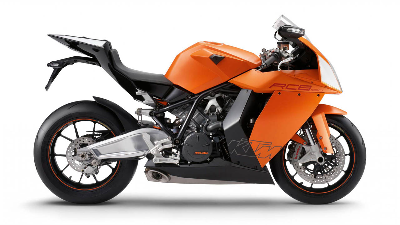 KTM RC8 Wallpaper 1280x723 KTM RC8 Motorbikes 1280x723