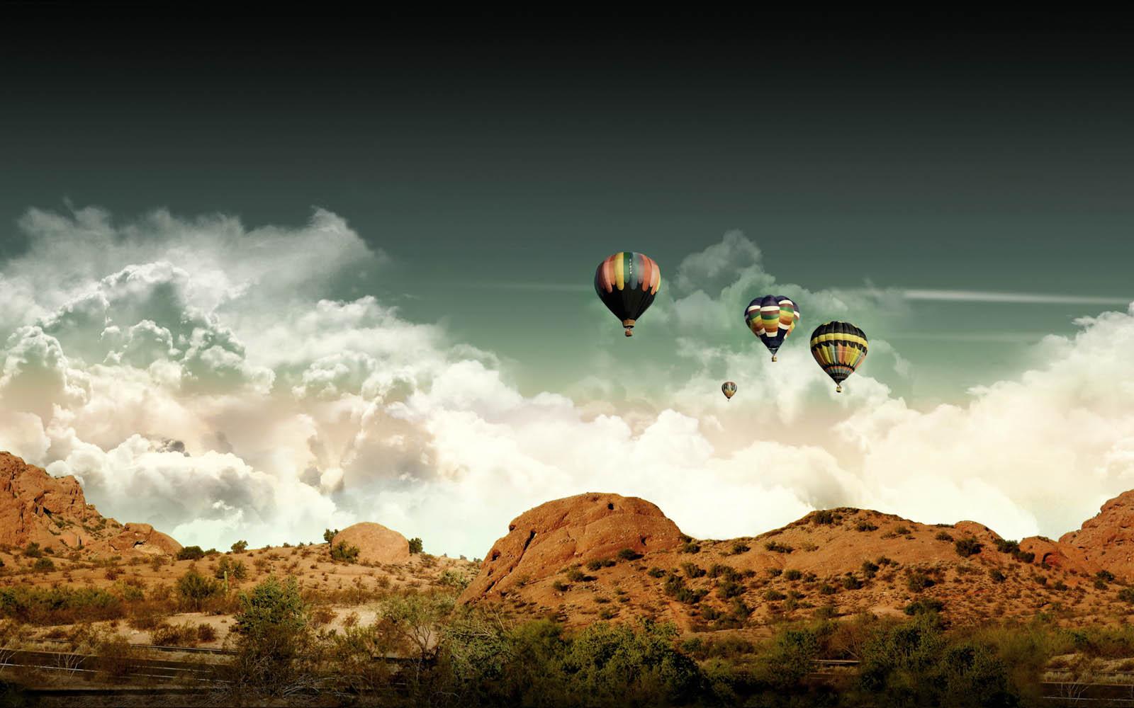 Gambar Gambar Balon Udara yang Cantik   wallpaper 1600x1000