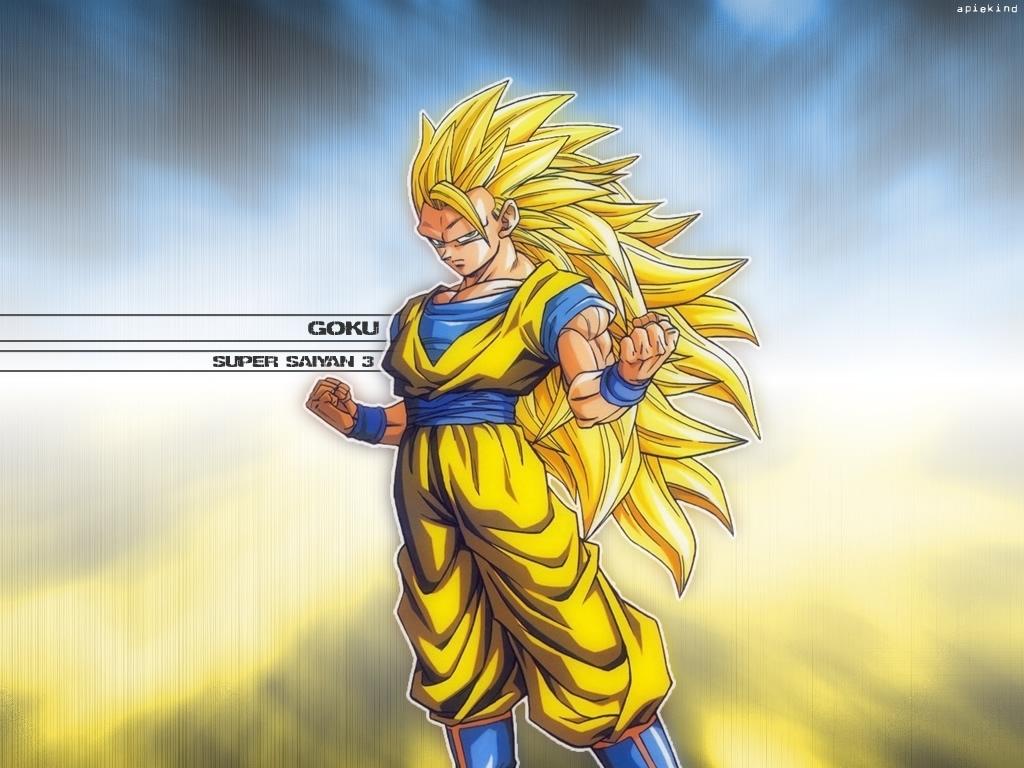 Goku Super Saiyan 3 Wallpaper 1024x768