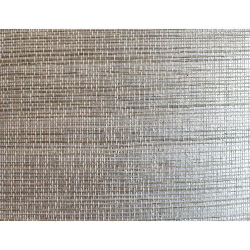 Grasscloth Wallpaper Natural Sisal Grasscloth Wallpaper on Silver 800x800