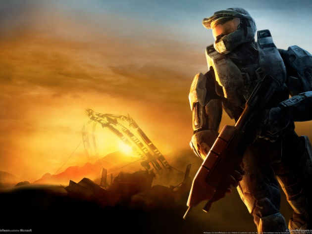 First person shooter Halo 3 630x473