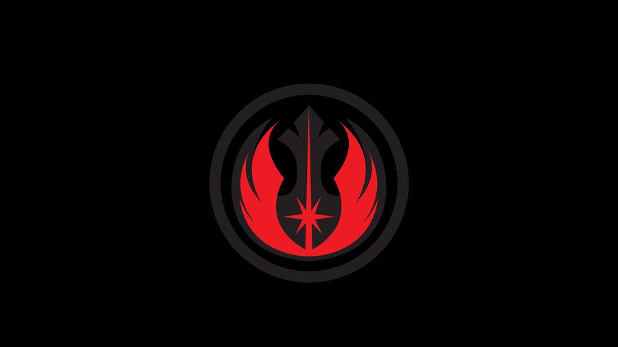 48 Jedi Logo Wallpaper On Wallpapersafari