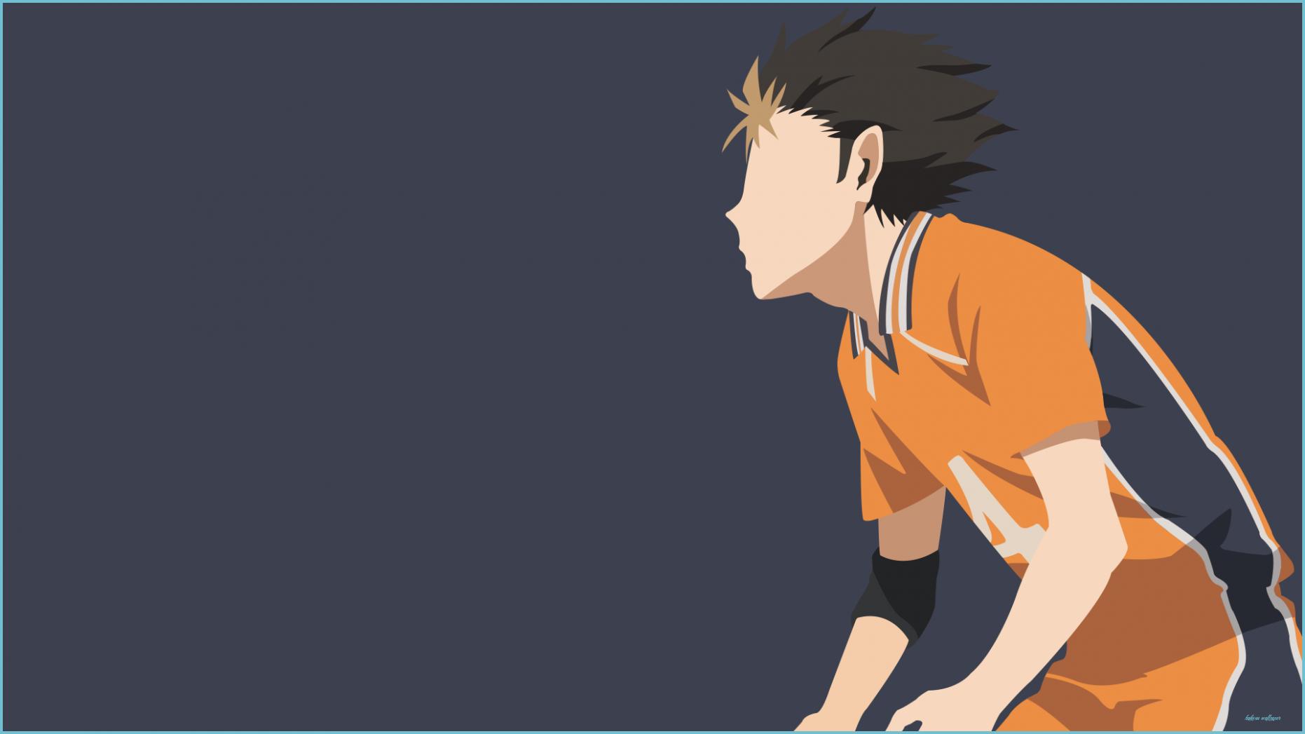 Nishinoya from Haikyuu Wallpaper for Desktop HD Wallpaper 1862x1047