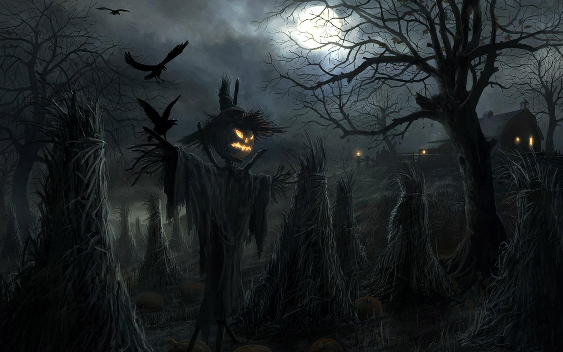 68 Scary Halloween Wallpapers on WallpaperPlay 1920x1200