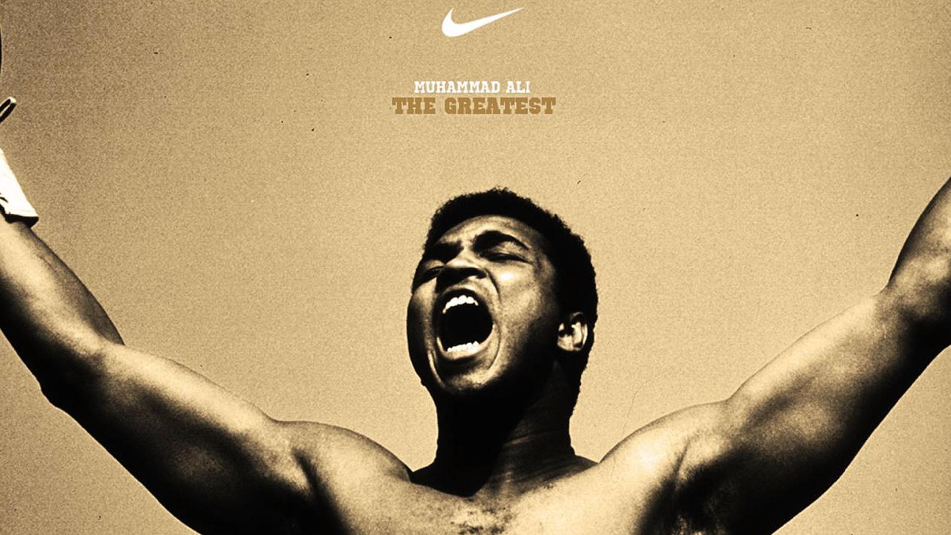 Muhammad Ali the boxer the legend nike nike 1920x1080 Wallpaper 1920x1080