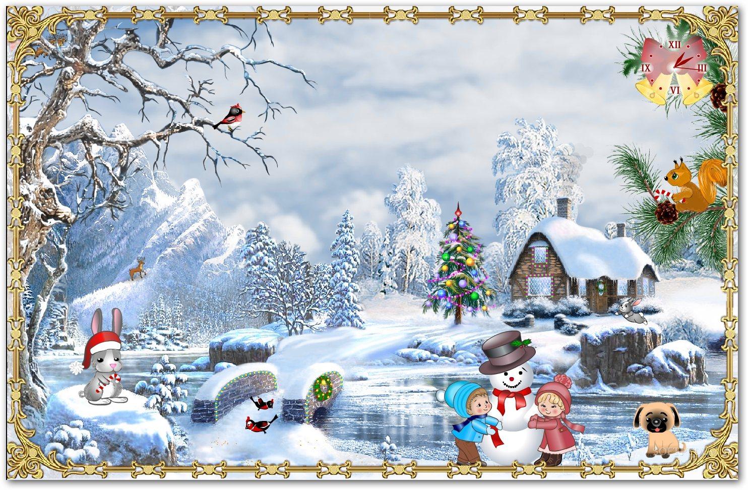 google wallpaper and screensavers christmas