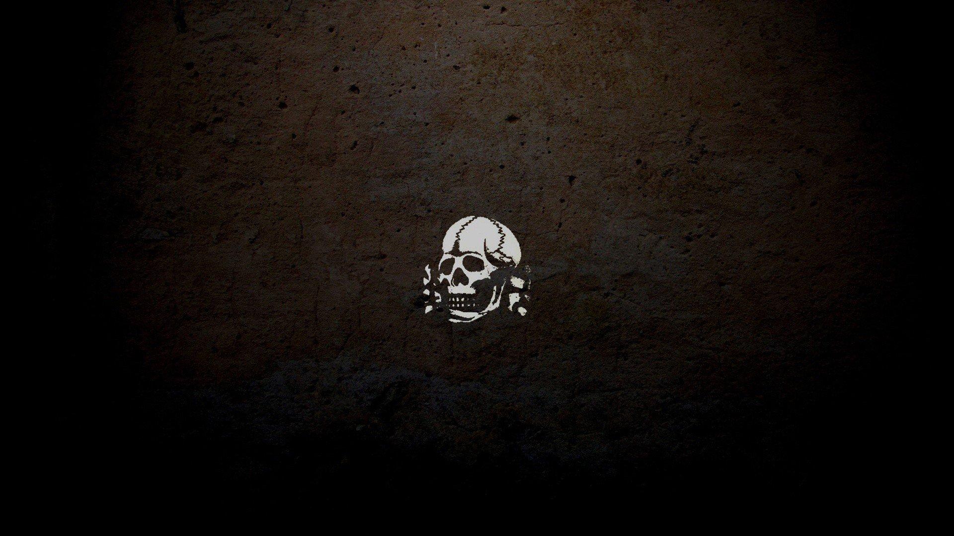 Skull and crossbones wallpaper 1920x1080 286535 WallpaperUP 1920x1080