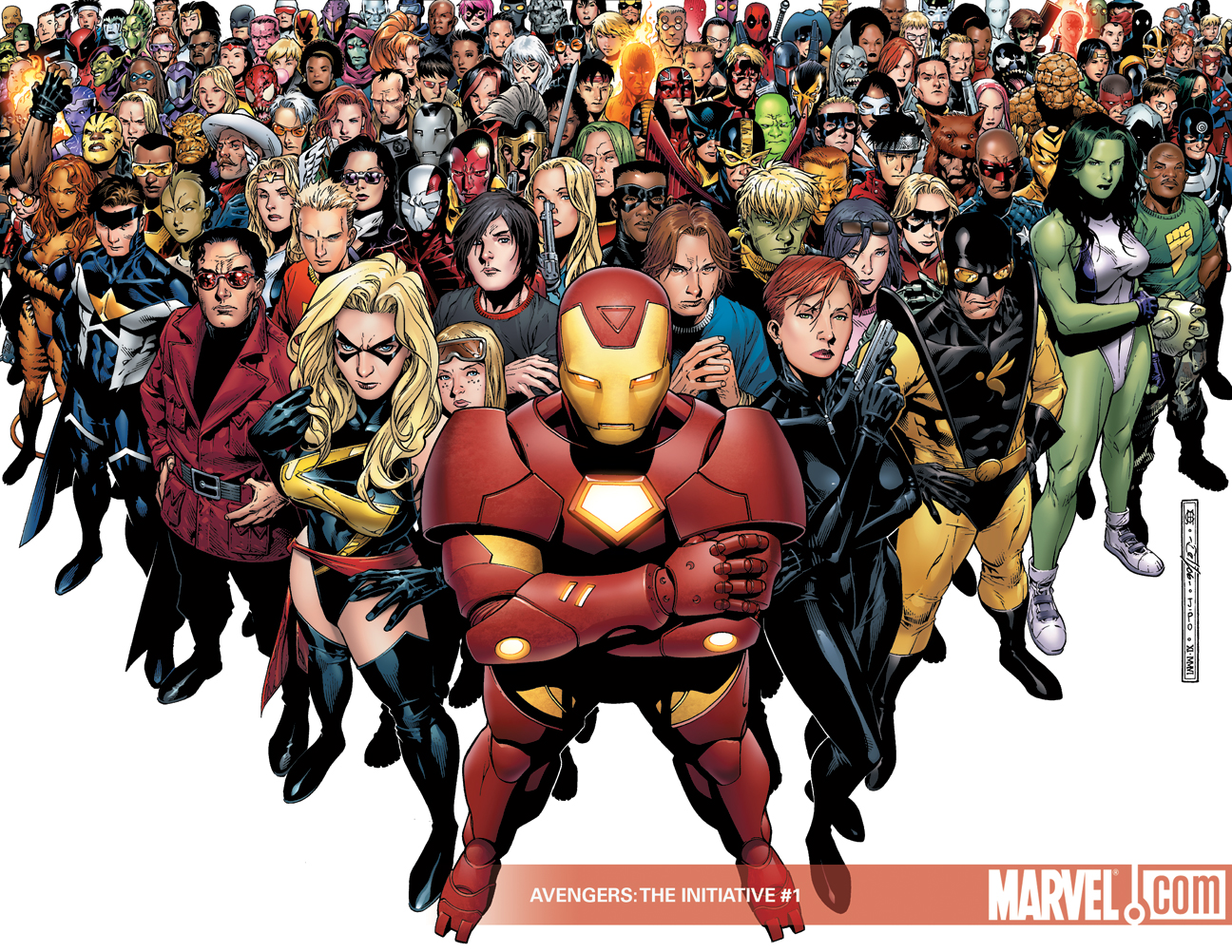 All Marvel Comics Together HD Desktop Wallpapers 1296x1002