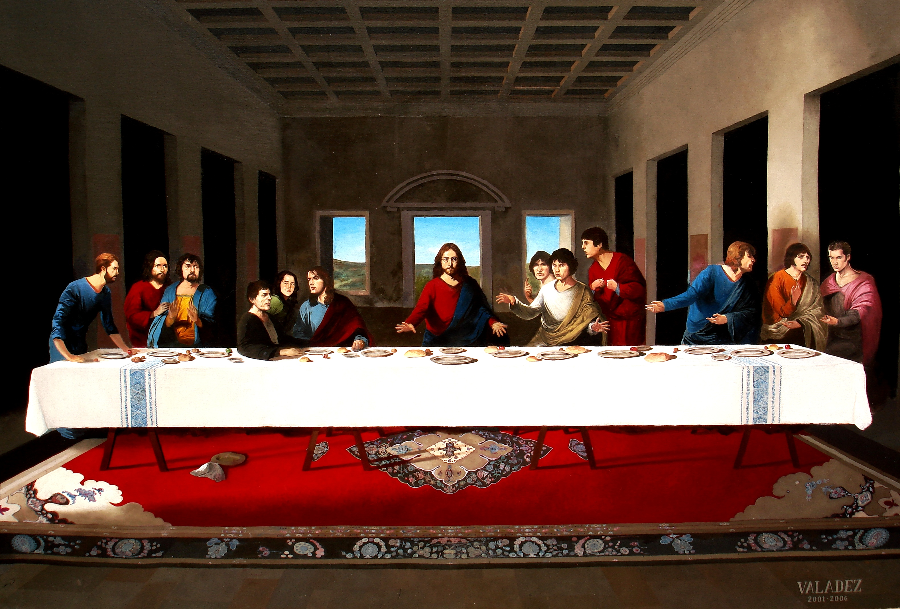 Last Supper Wallpaper 3157x2138