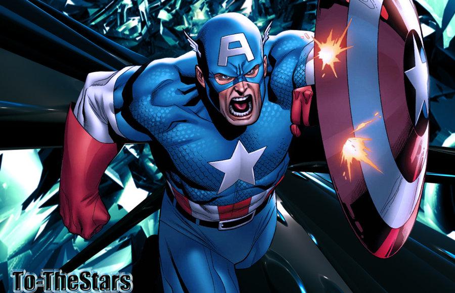 Marvel Comic Captain America Wallpaper The Cartoon Pictures Database 900x580