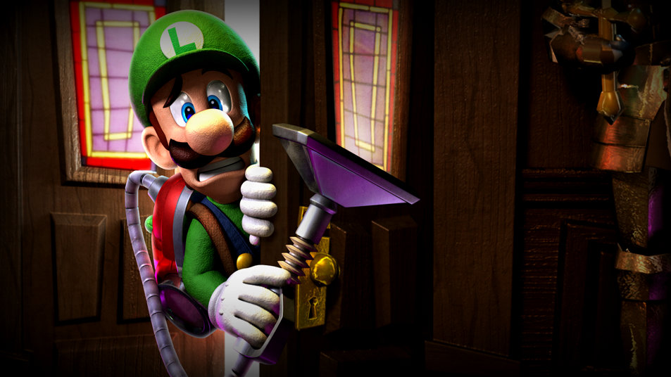 Luigis Mansion Dark Moon Wallpaper