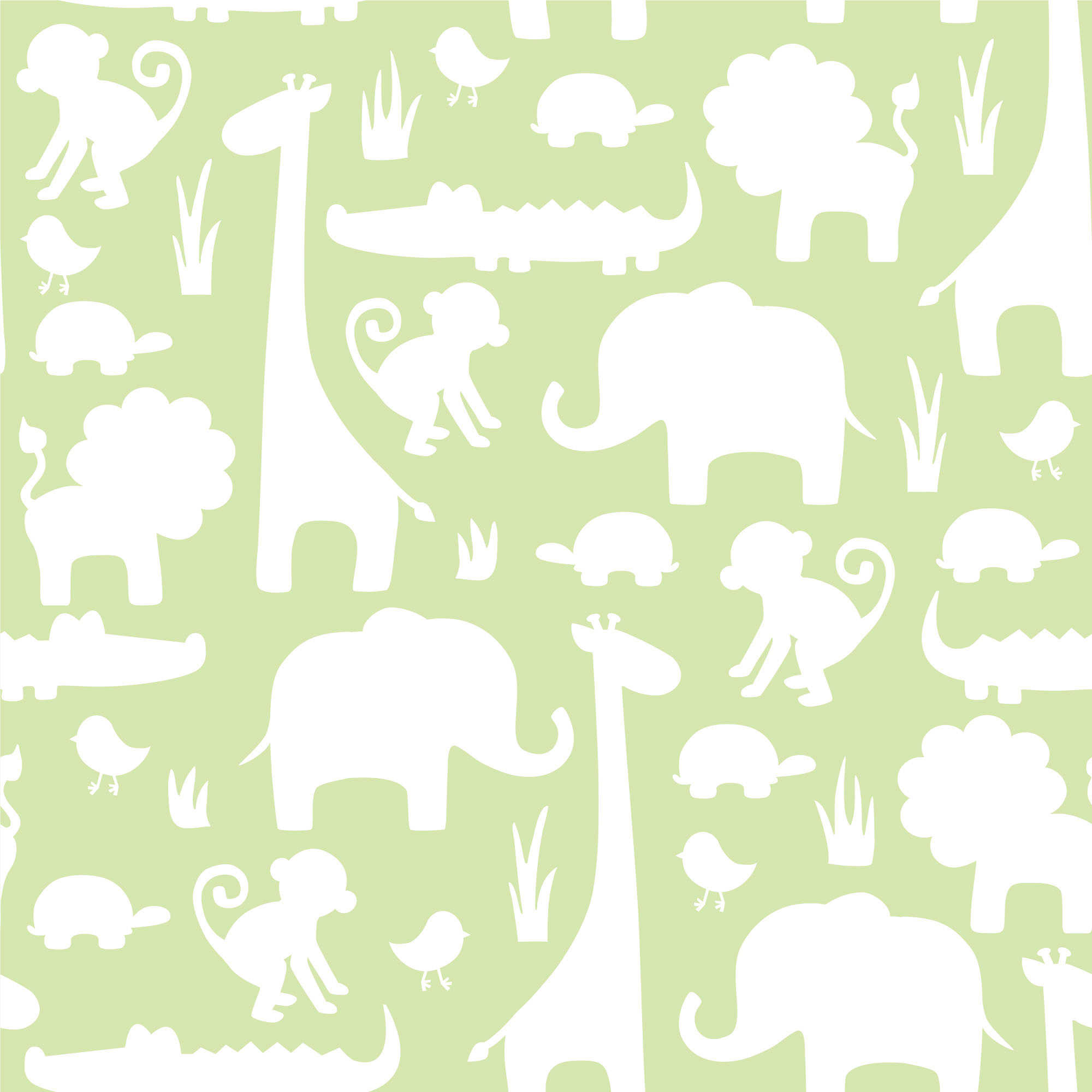 NuWallpaper Its A Jungle Peel Stick Wallpaper in Green 2000x2000