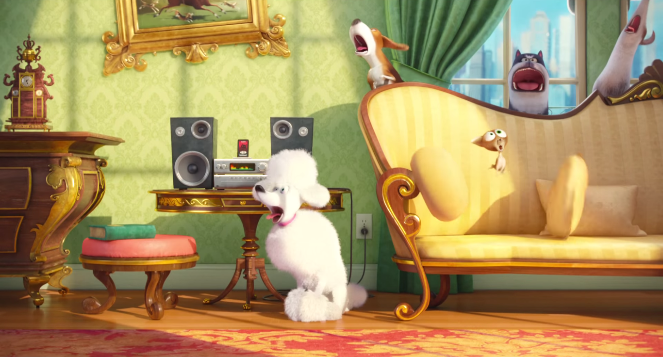 secret life of pets wallpaper wallpapersafari. Black Bedroom Furniture Sets. Home Design Ideas