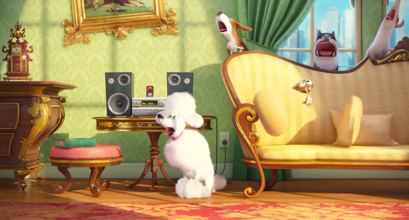 Download The Secret Life Of Pets Movie 2016 HD Wallpaper Digitalhint 1366x736