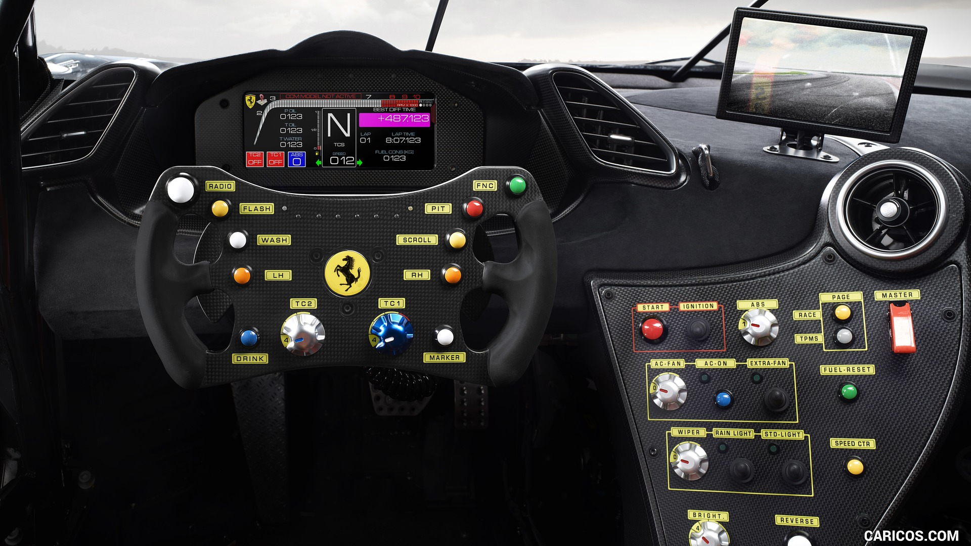 2020 Ferrari 488 Challenge Evo   Interior HD Wallpaper 4 1920x1080