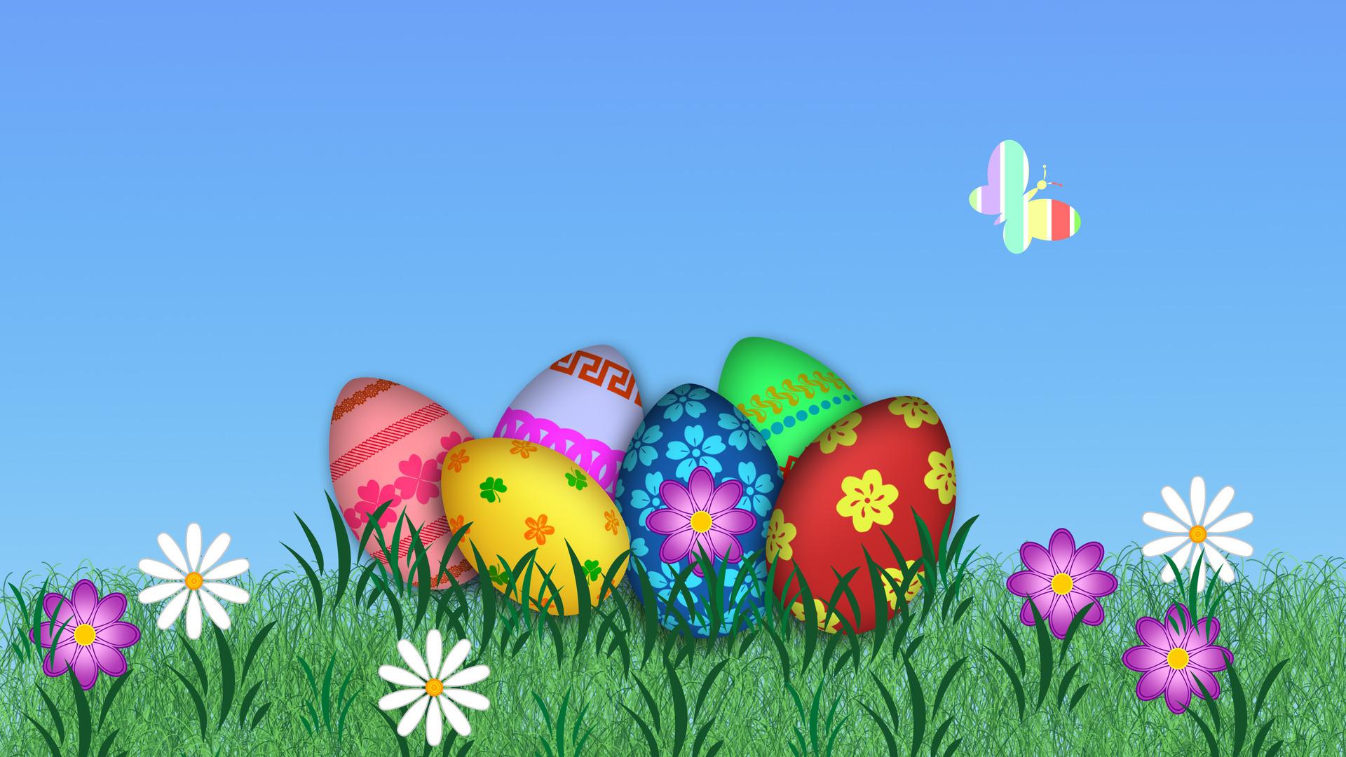 Download Happy Easter wallpaper 1920x1080