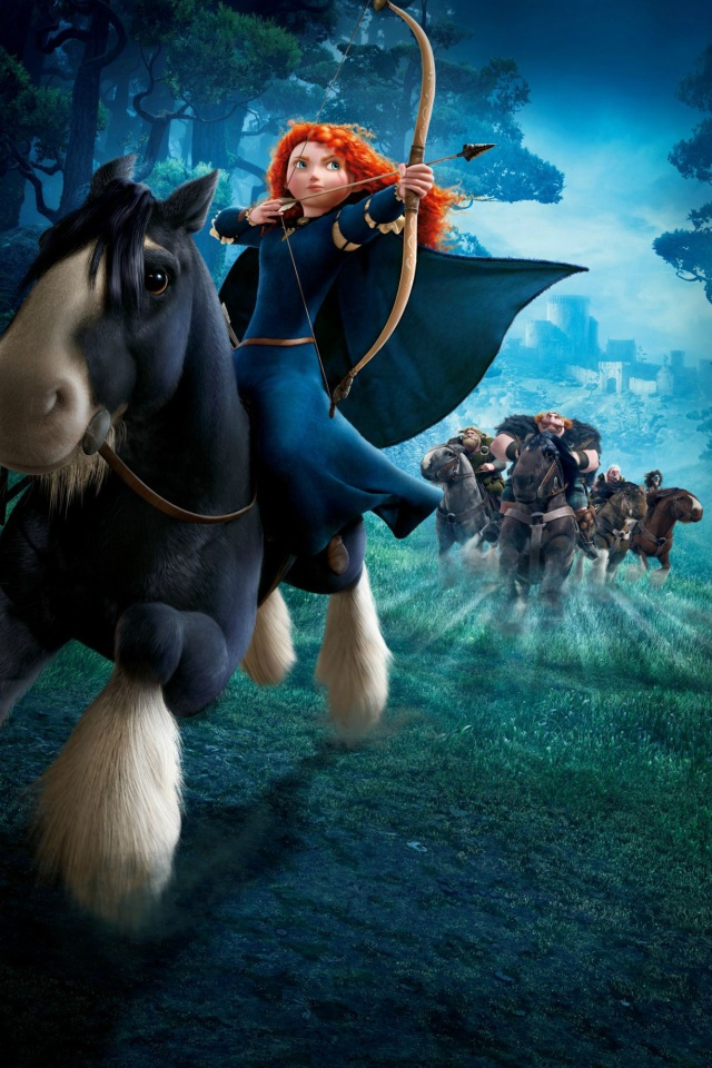 Disney brave wallpaper wallpapersafari - Cheval rebelle ...