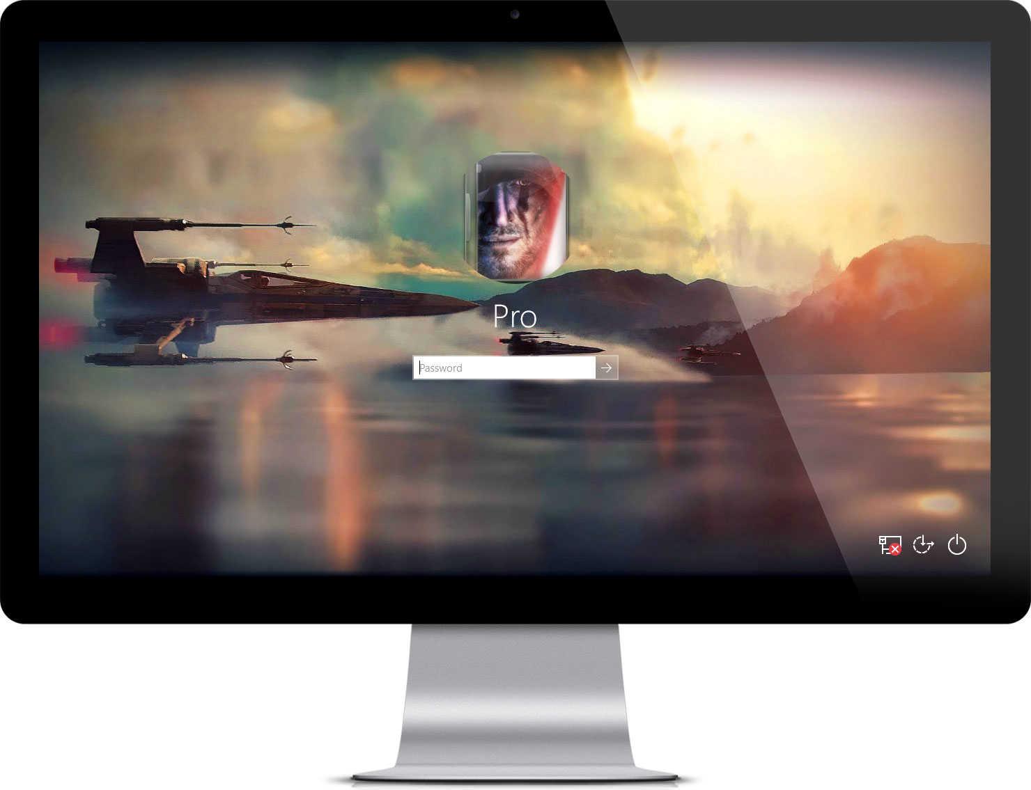 Star Wars The Force Awakens Theme on Windows 10 1480x1135