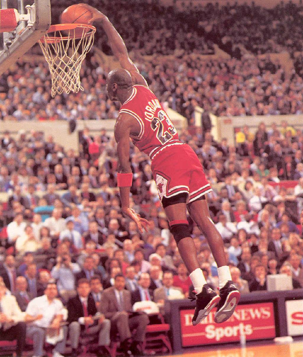 Michael Jordan slam dunk   Chicago Bulls Wallpaper 1024x1204