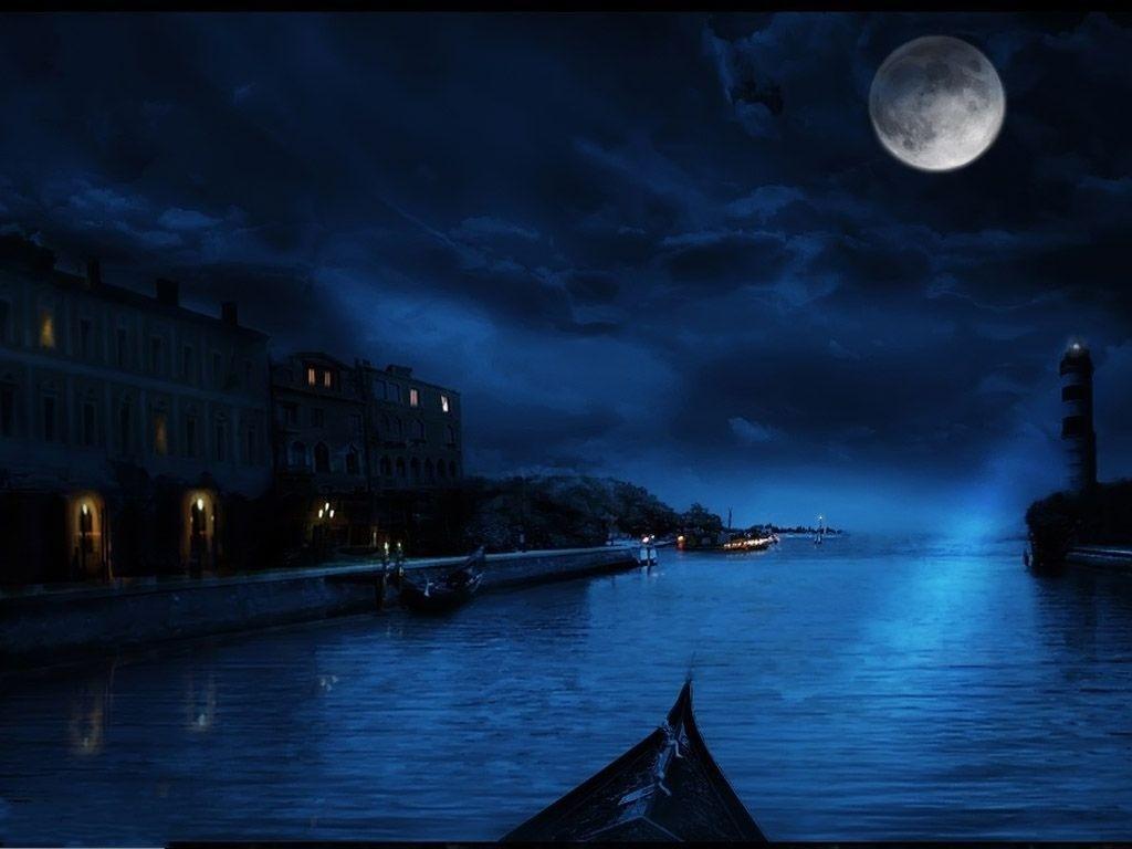 Midnight Blue Wallpaper 45170 Full HD Wallpaper Desktop   Res 1024x768