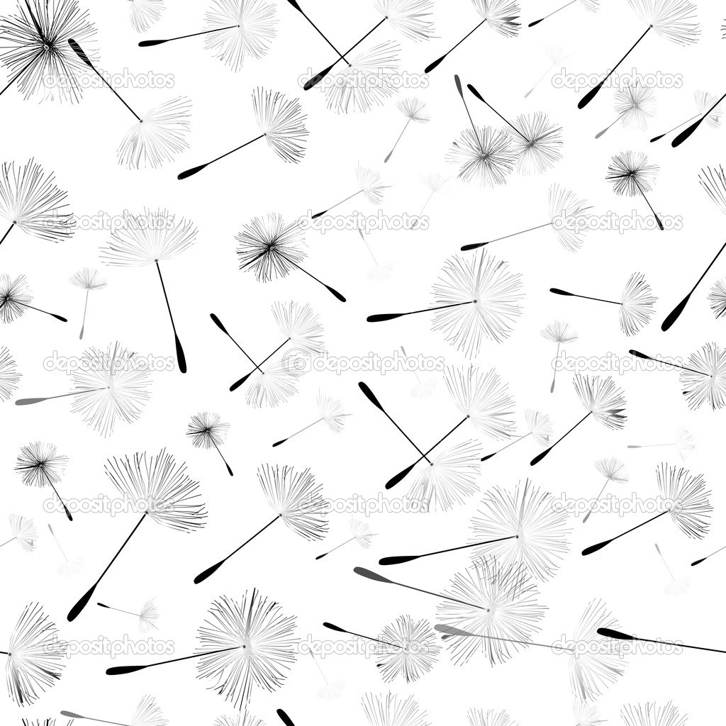 Dandelion Pattern Wallpaper Dandelion pattern   stock 1024x1024