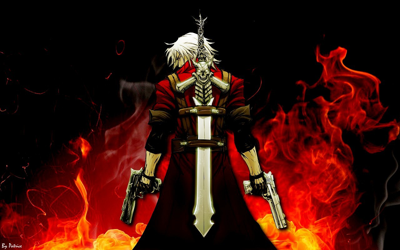Wallpapers Devil May Cry Anime 1280x800