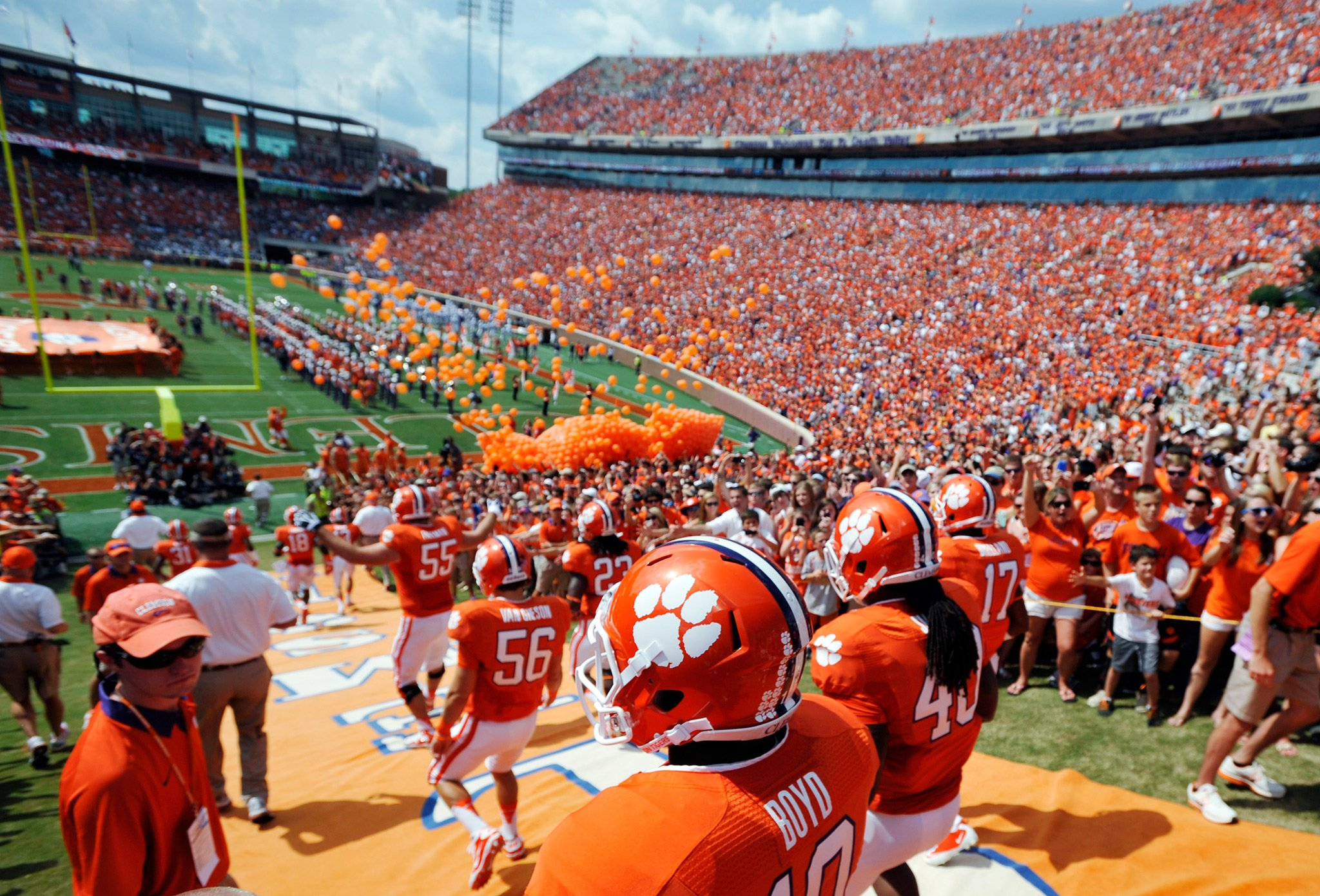 The ultimate home for Clemson Tigers news rumors player and team updates commentary recruiting analysis and opinion Covering Clemson football Clemson