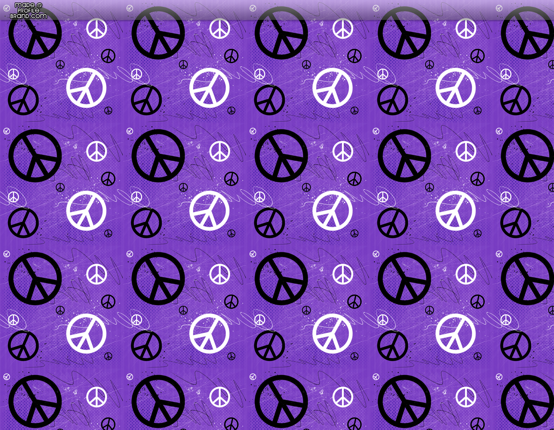Purple Peace Signs Peace Twitter Background 1800x1400