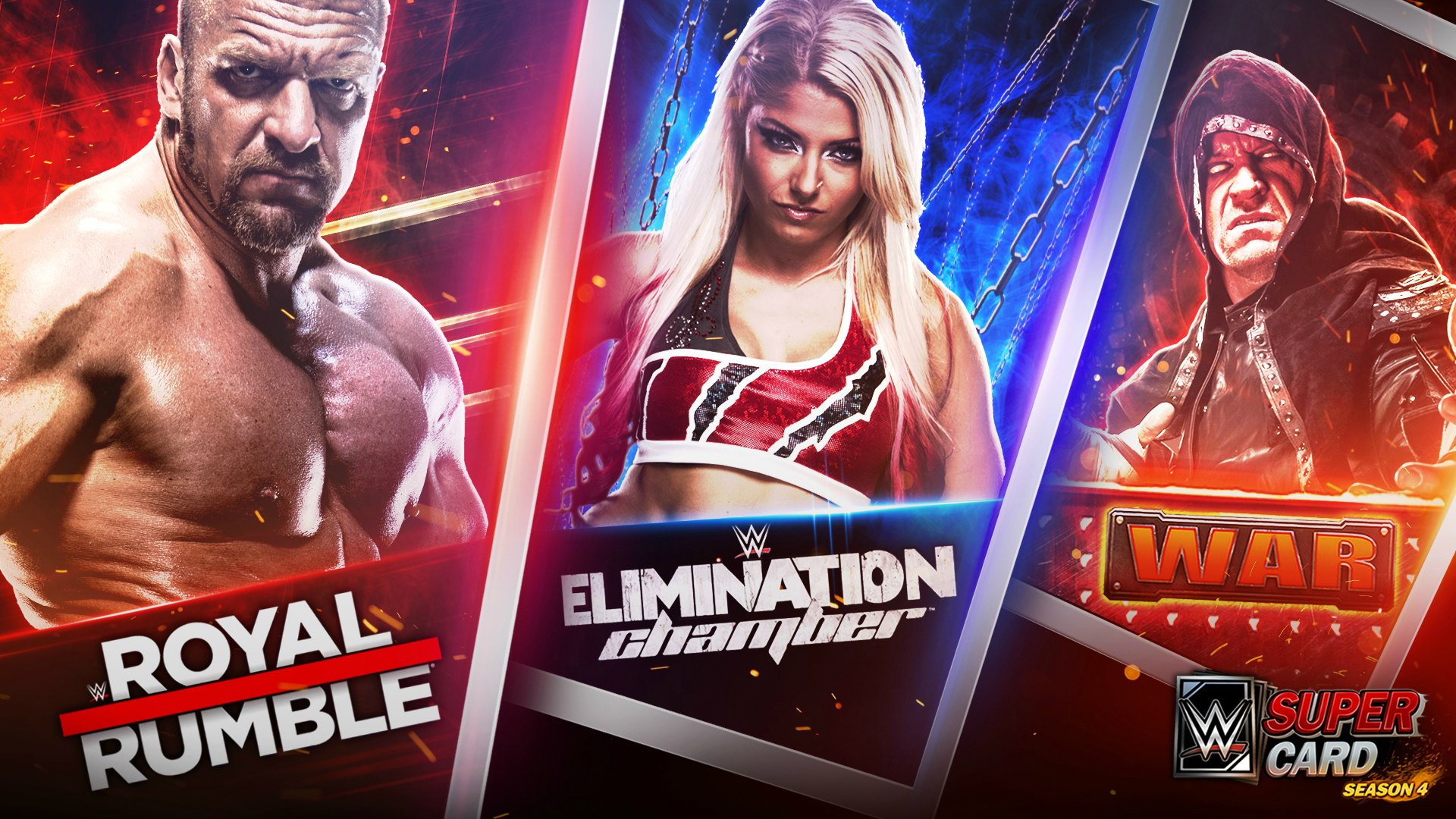 WWE SuperCard Season 4 Details on New Unified PVP Leagues 1920x1080