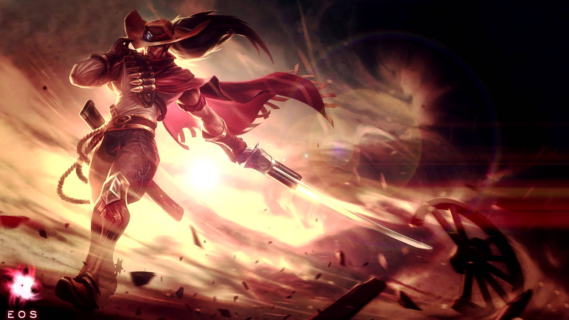 high noon yasuo wallpaper wallpapersafari