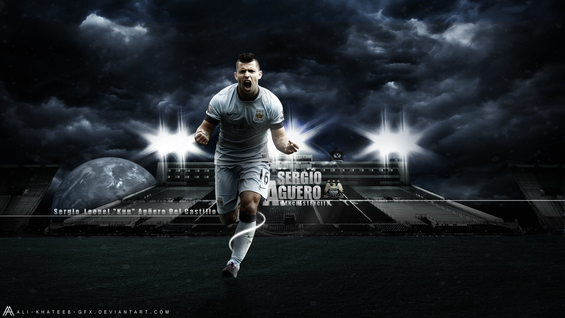 Free Download Download Sergio Aguero Manchester City Player Hd Wallpaper Search 1920x1080 For Your Desktop Mobile Tablet Explore 50 Manchester City Hd Wallpapers Manchester United Wallpaper 2015 Manchester United