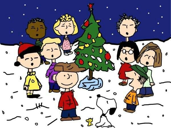 Love the Charlie Brown gang Christmas Pinterest 600x450