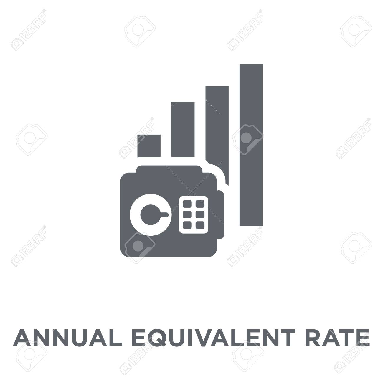 Annual Equivalent Rate AER Icon Annual Equivalent Rate AER 1300x1300