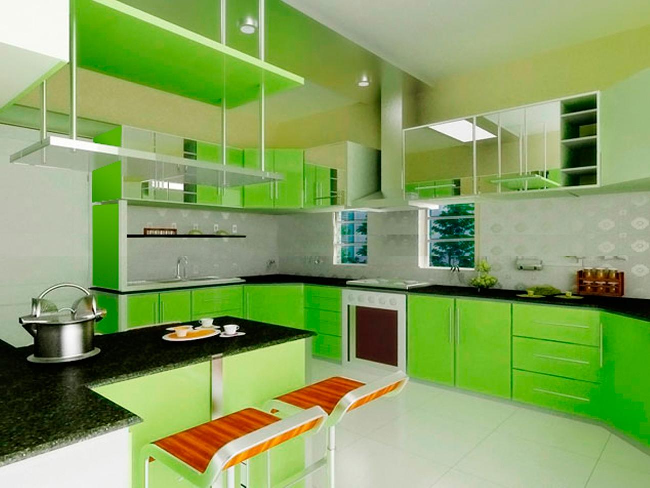 43 Green Kitchen Wallpaper On Wallpapersafari