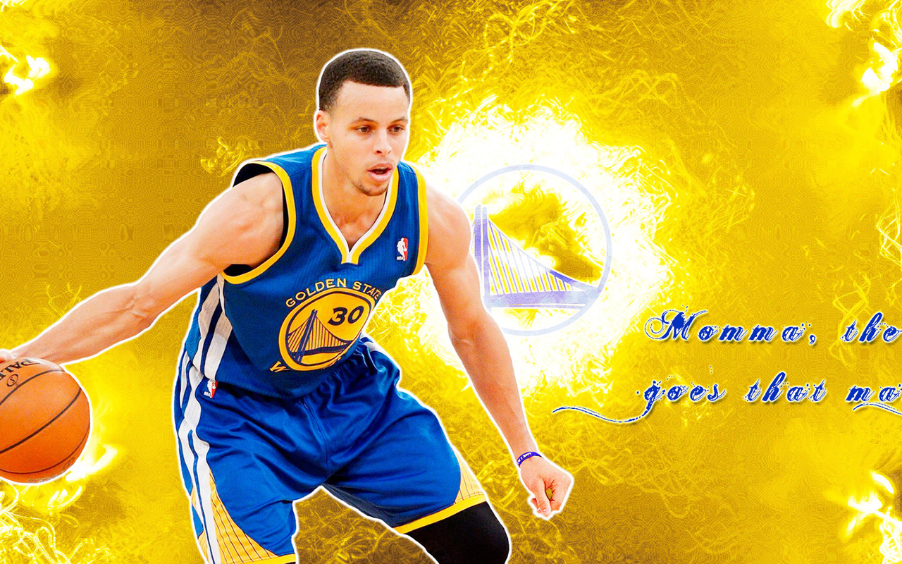 Stephen Curry Golden State Warriors Wallpaper 1280x800