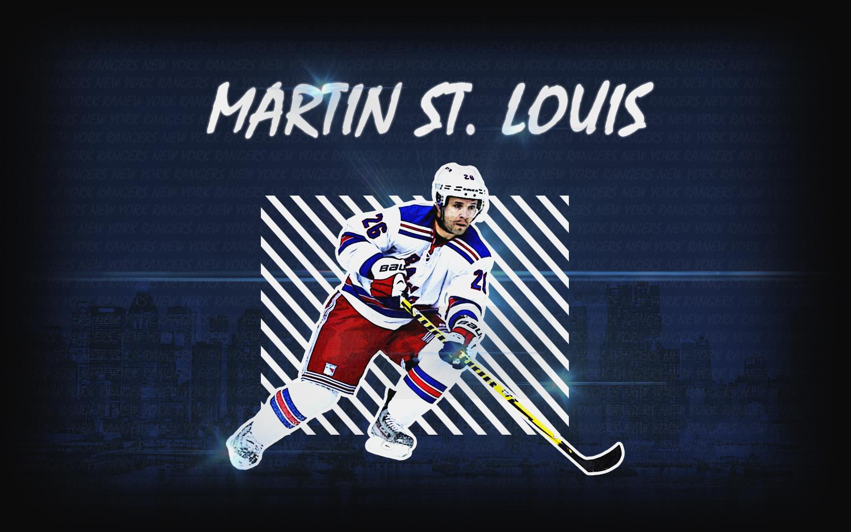 Wallpaper Martin St Louis New York Rangers   HFBoards 1680x1050