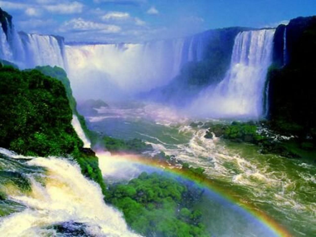 Waterfall 3d Wallpaper Download 1280x960