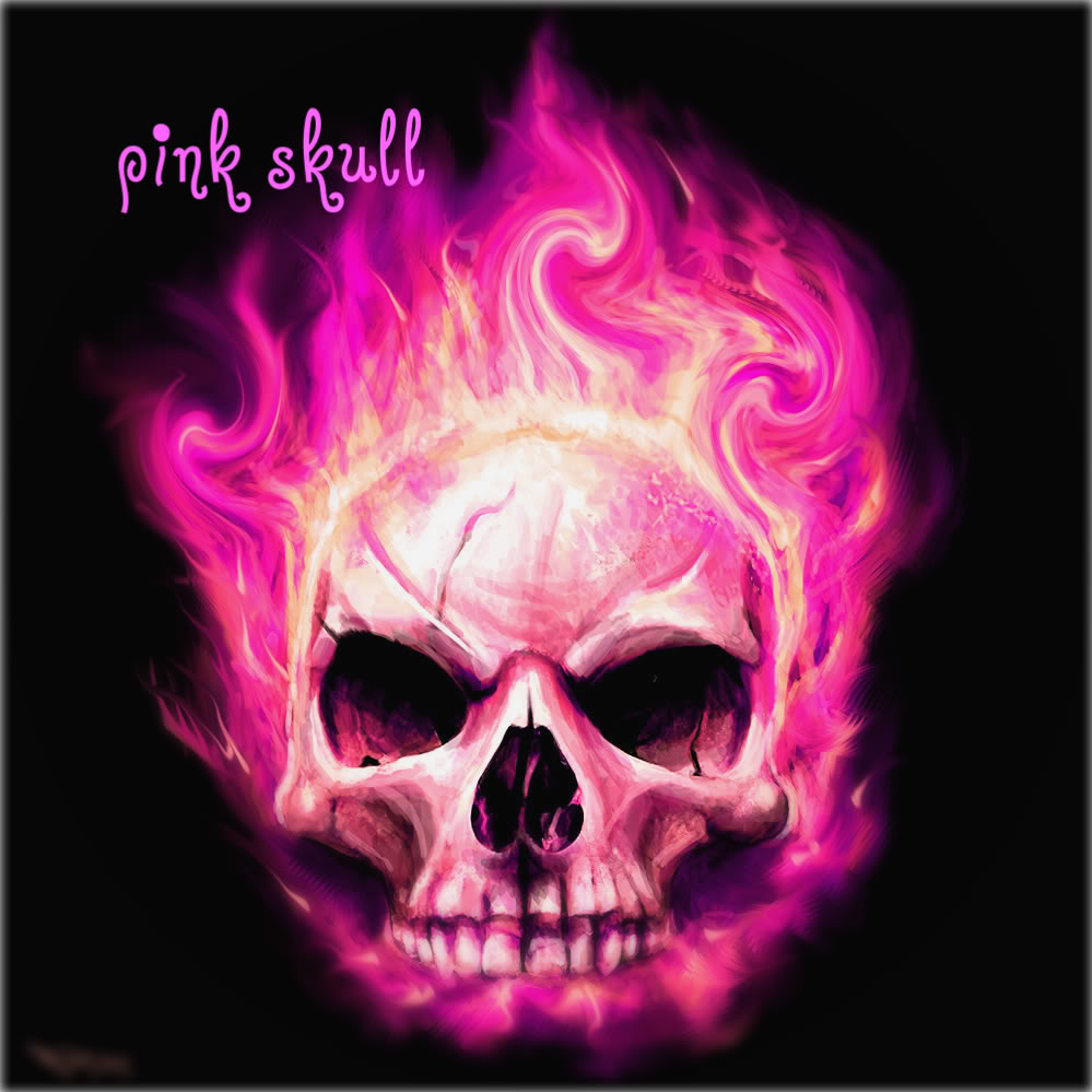 Pink Skull Photo by ikitomo Photobucket 999x999